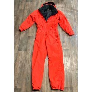 OBERMEYER snow ski suit one piece vintage